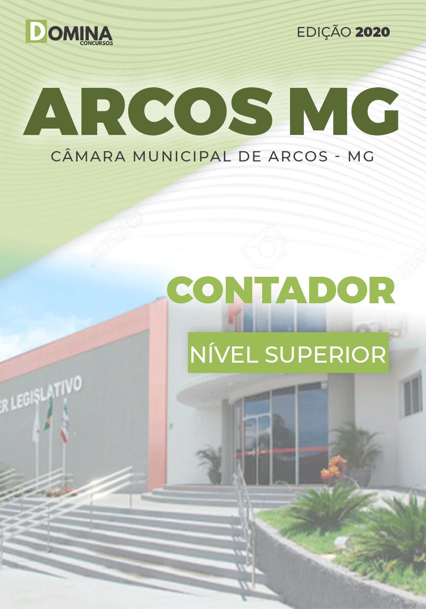 Apostila Concurso Câmara Arcos MG 2020 Contador