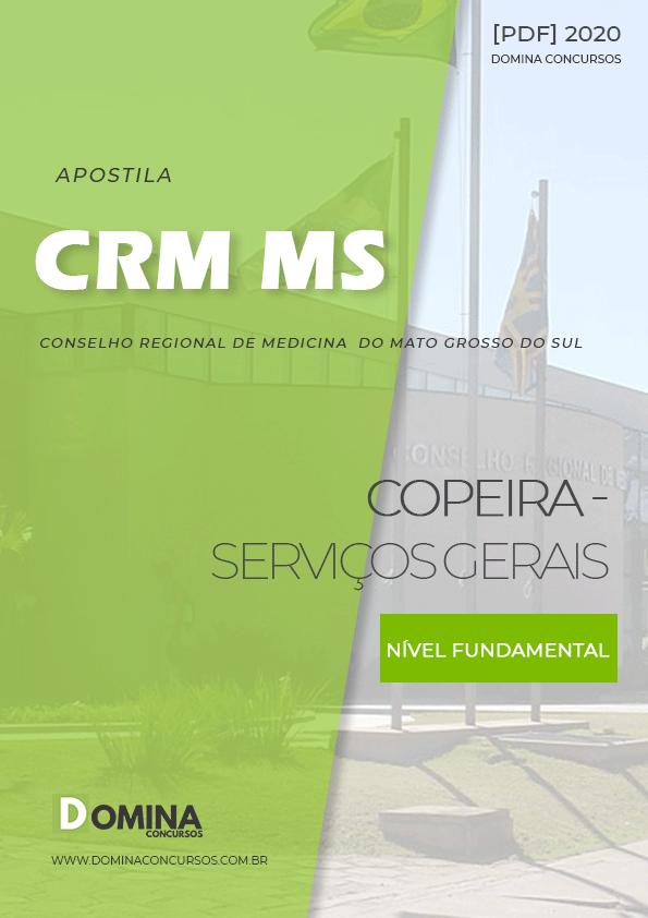 Apostila Concurso CRM MS 2020 Copeira Serviços Gerais