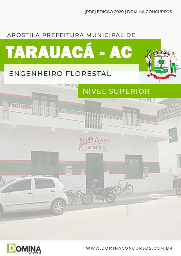 Apostila Concurso Pref Tarauacá AC 2020 Engenheiro Florestal