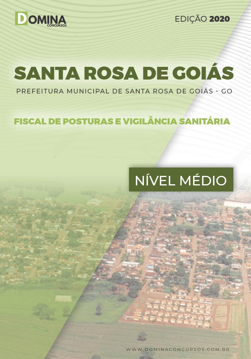 Apostila Santa Rosa de Goiás 2020 Fiscal de Posturas