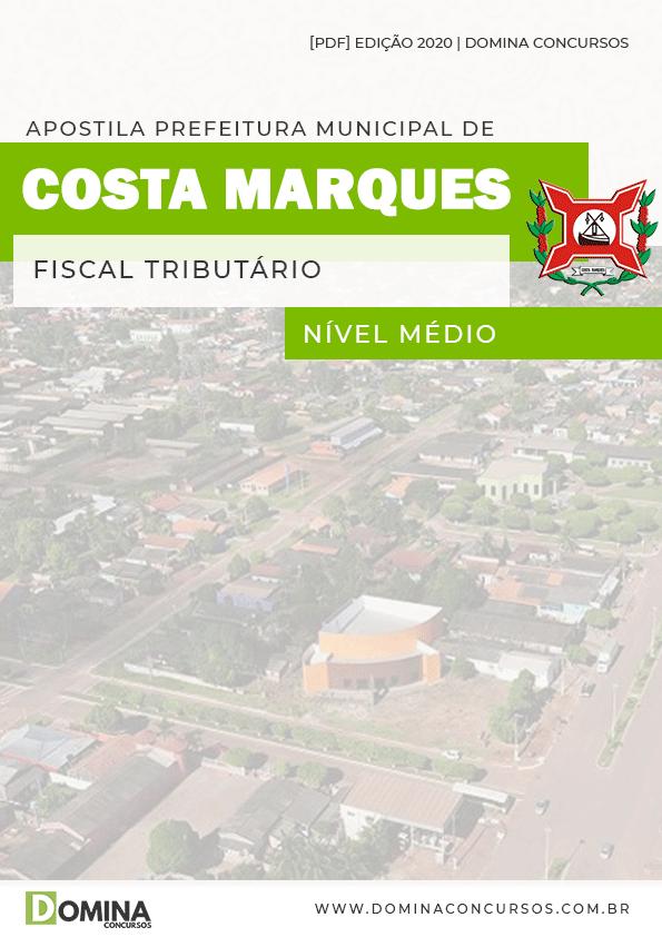 Apostila Pref Costa Marques 2020 Fiscal Tributário