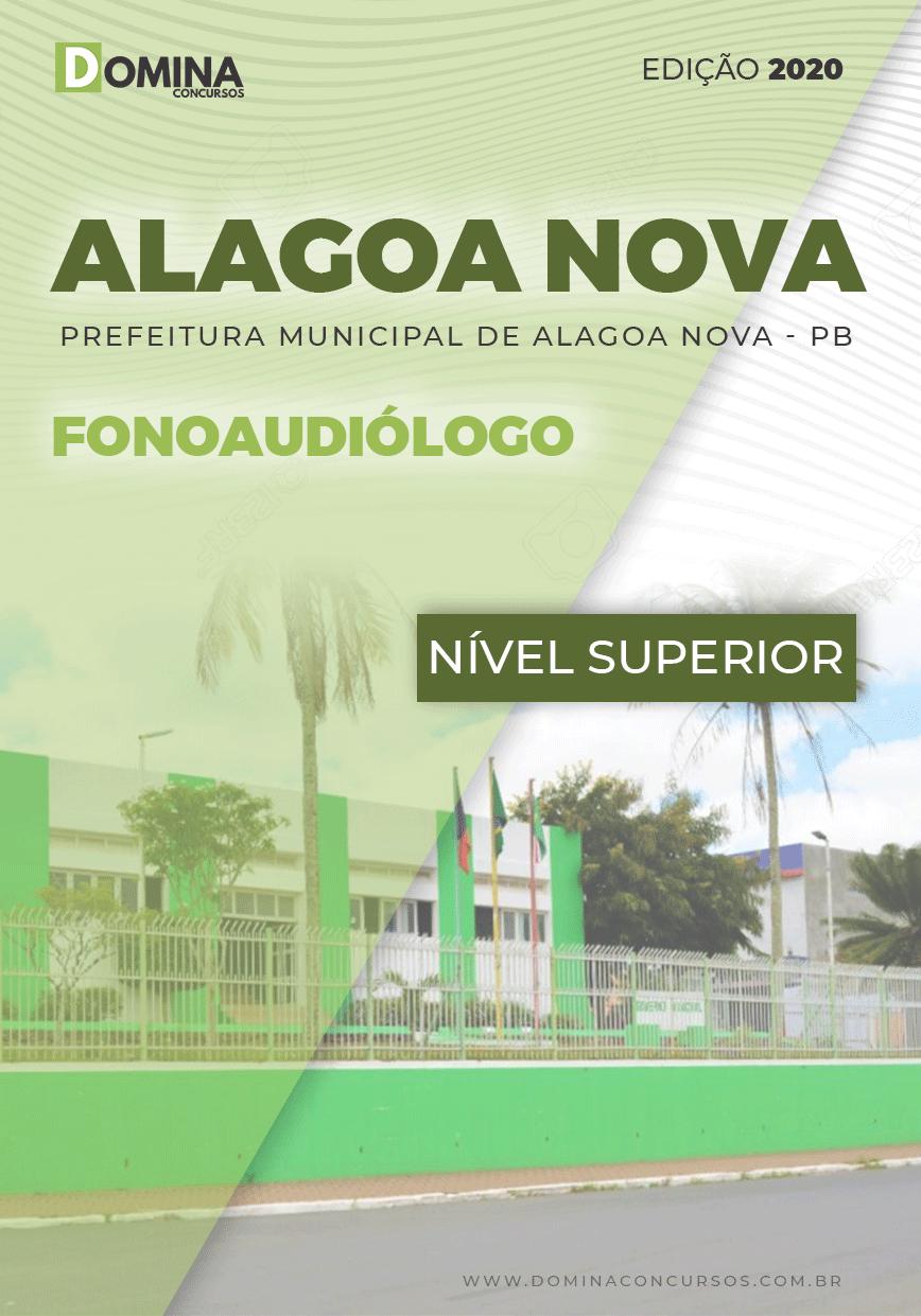 Apostila Concurso Alagoa Nova PB 2020 Fonoaudiólogo