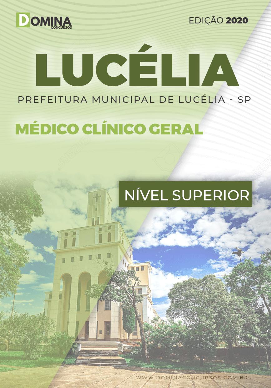 Apostila Concurso Lucélia SP 2020 Médico Clínico Geral