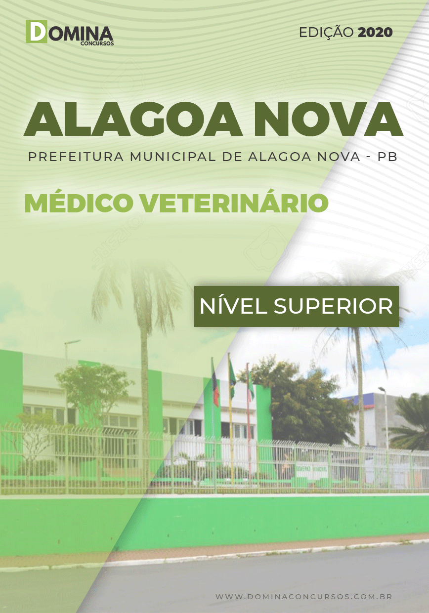 Apostila Concurso Alagoa Nova PB 2020 Médico Veterinário