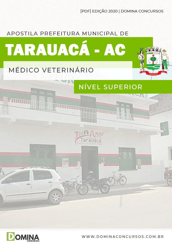 Apostila Concurso Pref Tarauacá AC 2020 Médico Veterinário