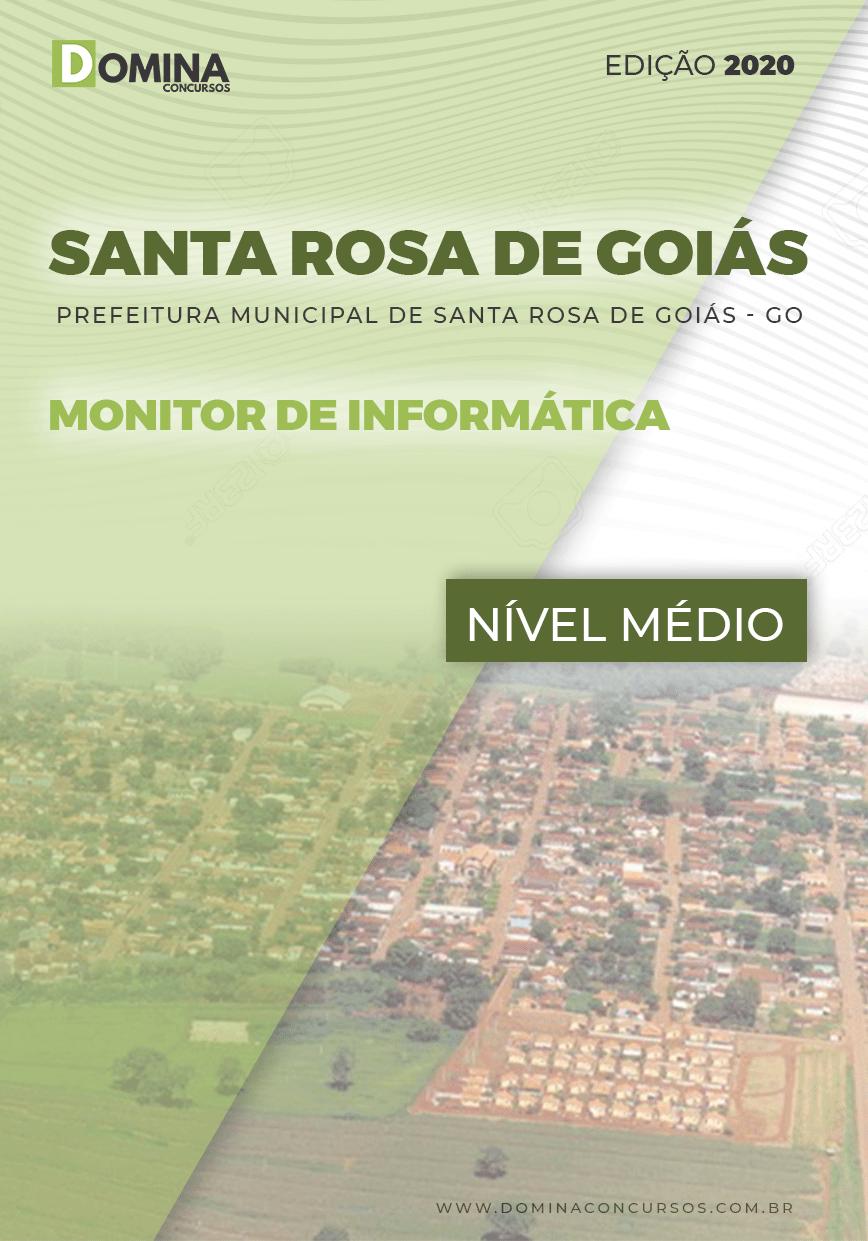 Apostila Santa Rosa de Goiás 2020 Monitor de Informática