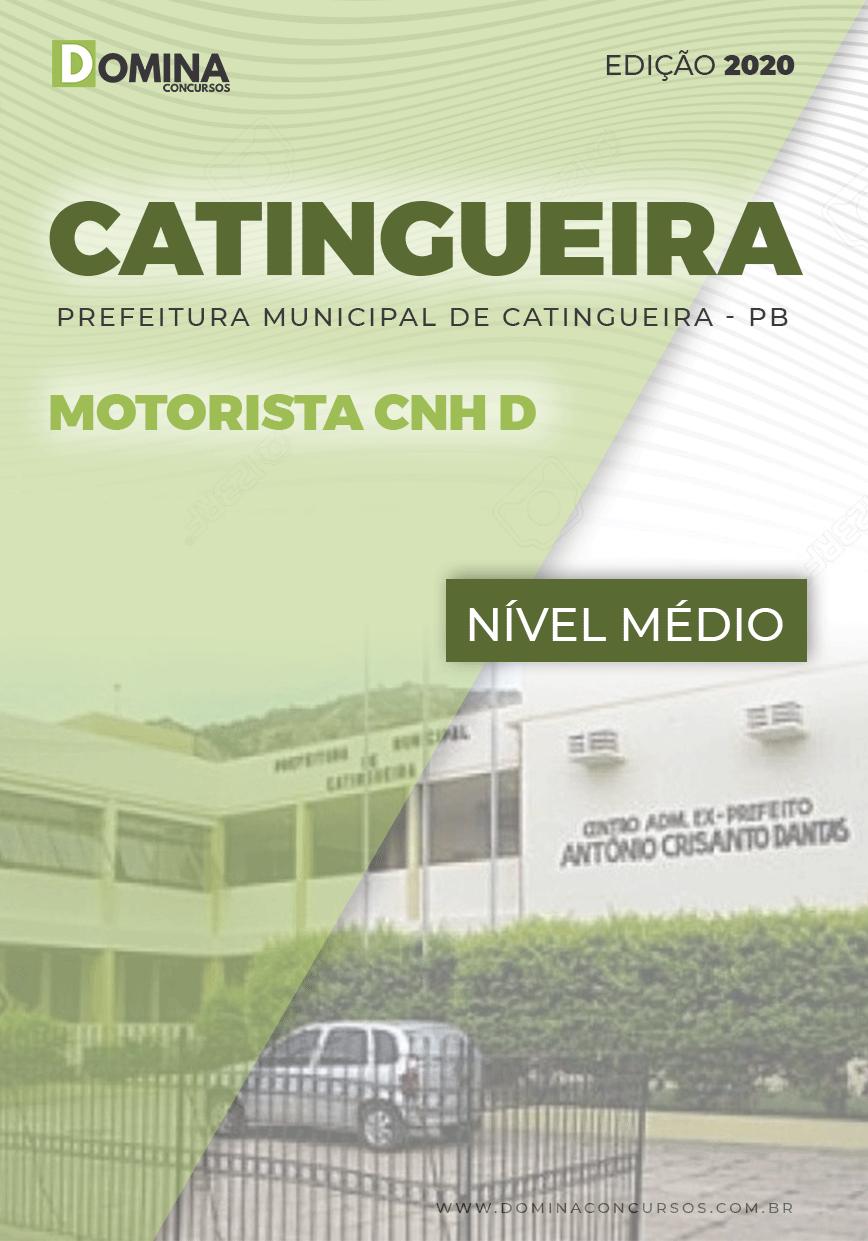Apostila Concurso Prefeitura Catingueira 2020 Motorista