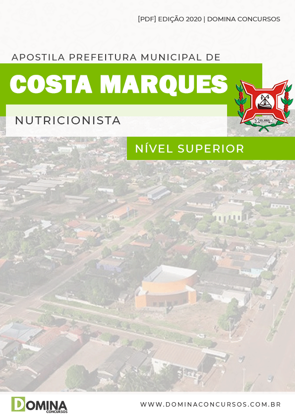 Apostila Concurso Costa Marques 2020 Nutricionista