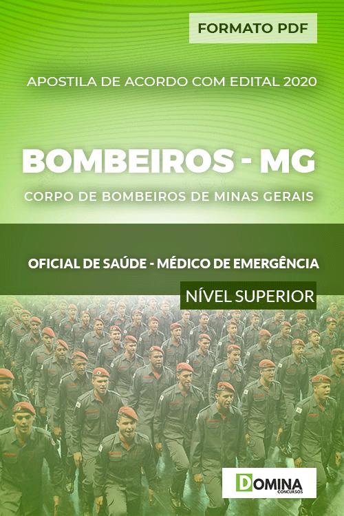 Apostila Bombeiros MG 2020 Oficial Saúde Médico Emergência