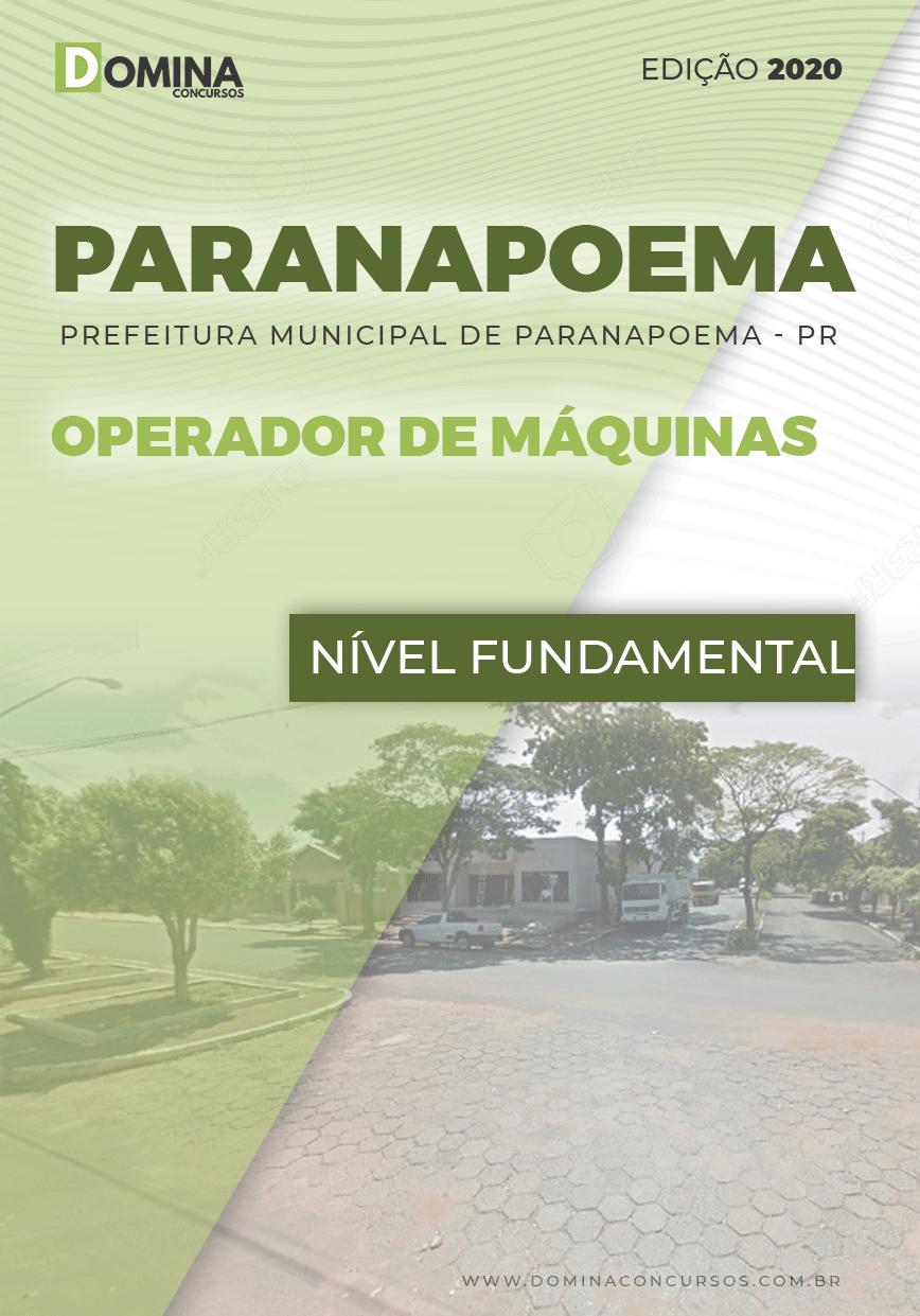 Apostila Pref Paranapoema PR 2020 Operador de Máquinas