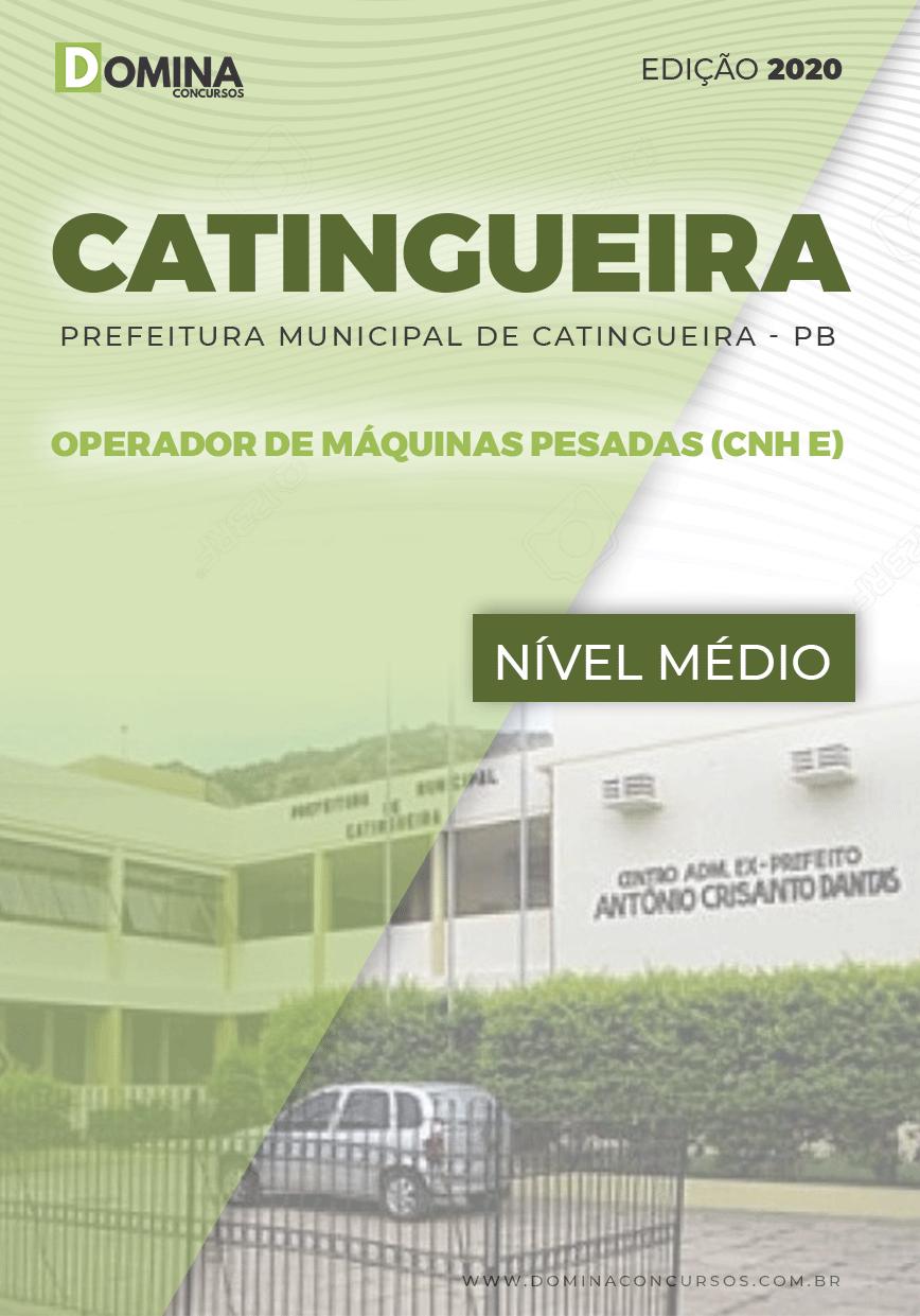 Apostila Catingueira PB 2020 Operador de Máquinas Pesadas