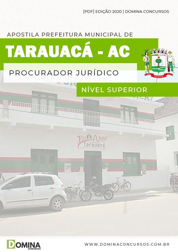 Apostila Pref Tarauacá AC 2020 Procurador Jurídico