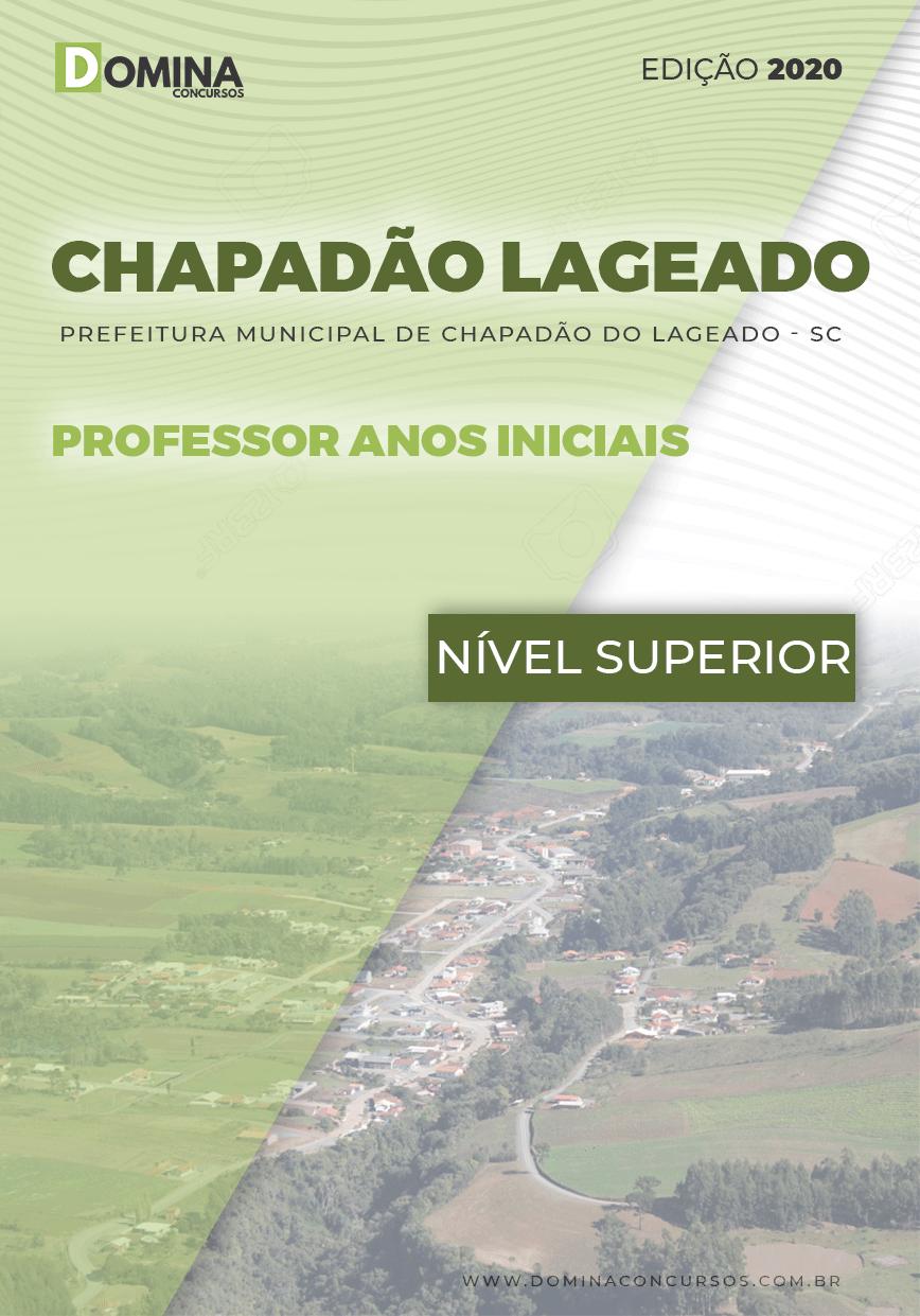 Capa Chapadão do Lageado SC 2020 Prof Anos Iniciais