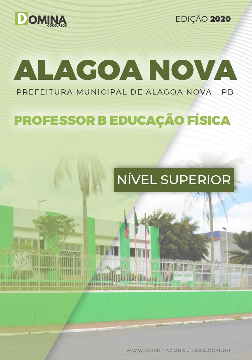 Apostila Alagoa Nova PB 2020 Professor B Educação Física