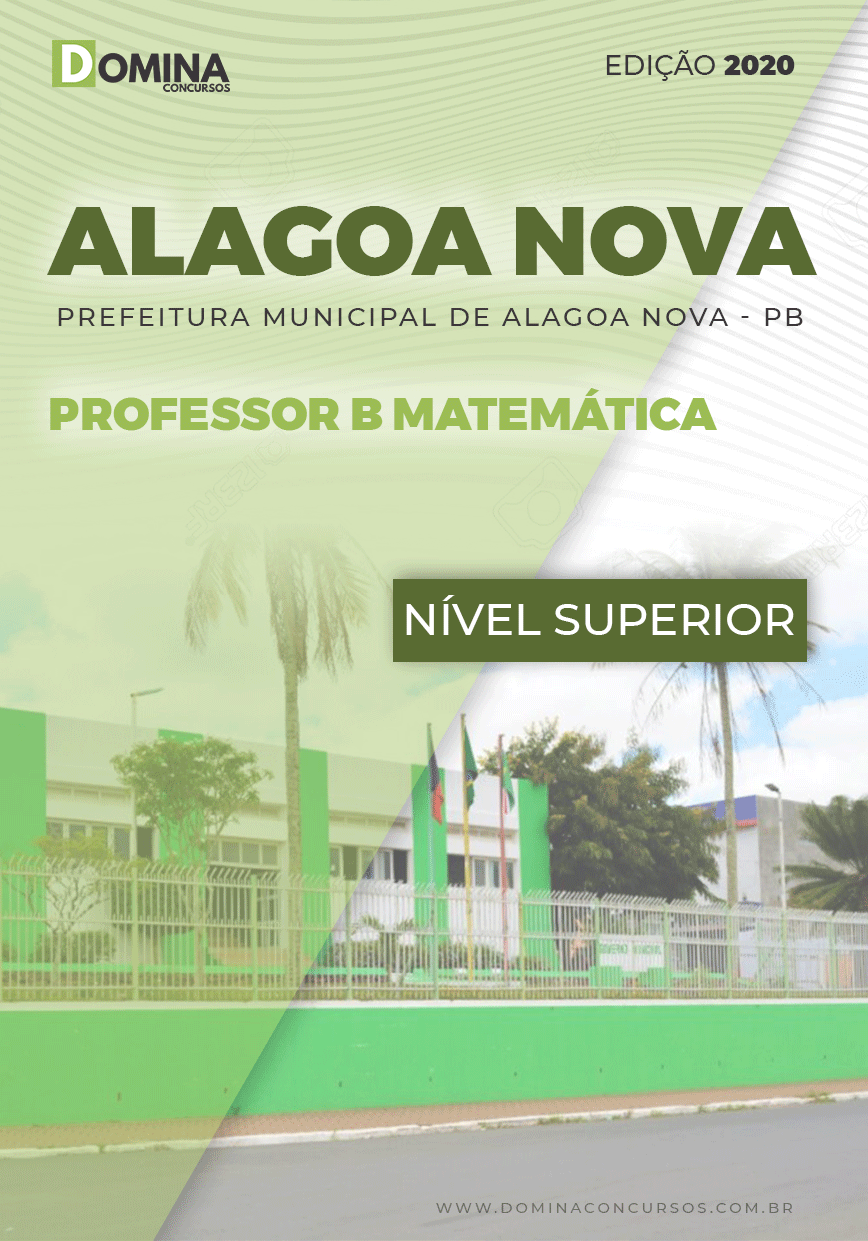Apostila Alagoa Nova PB 2020 Professor C Matemática