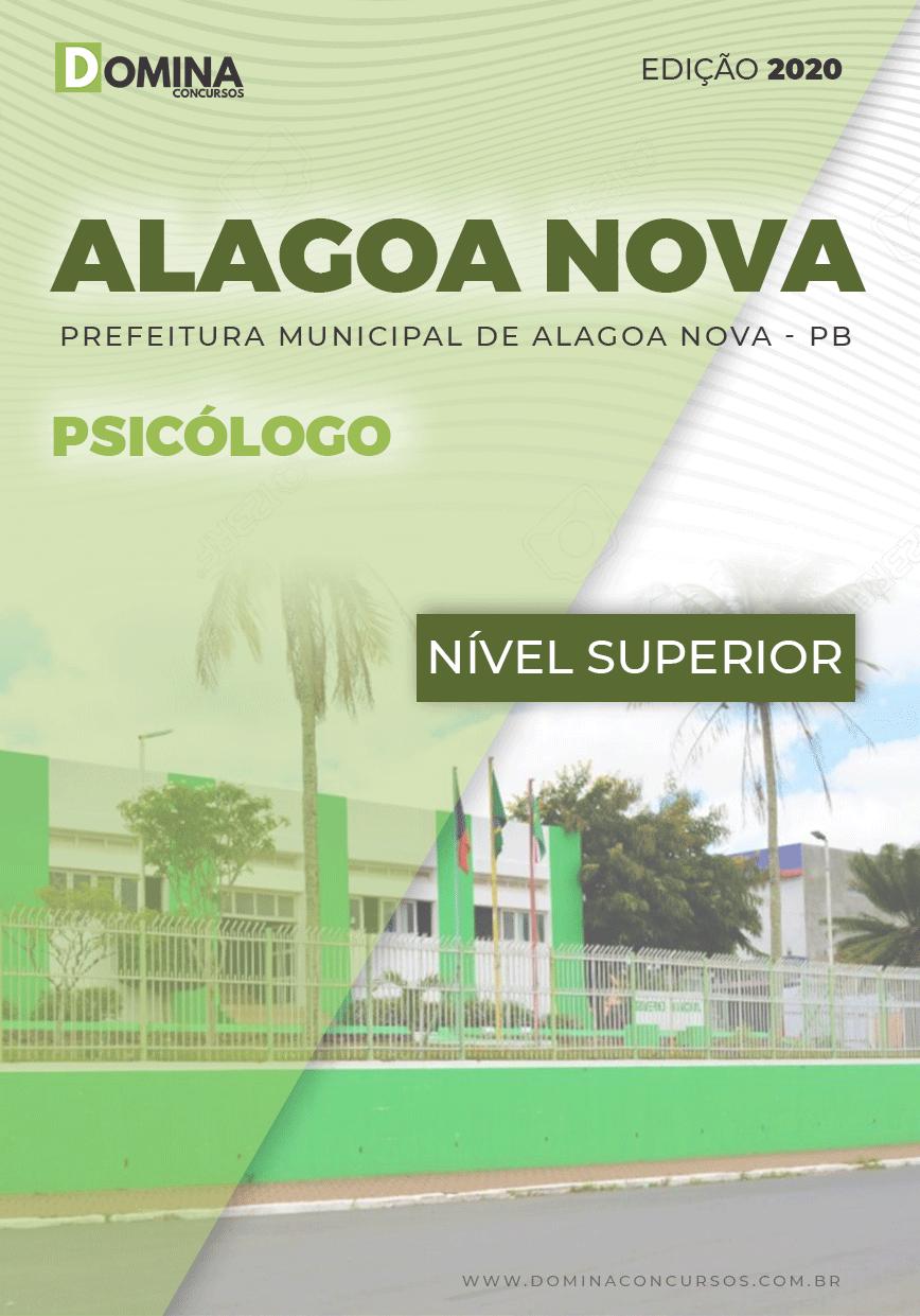 Apostila Concurso Alagoa Nova PB 2020 Psicólogo