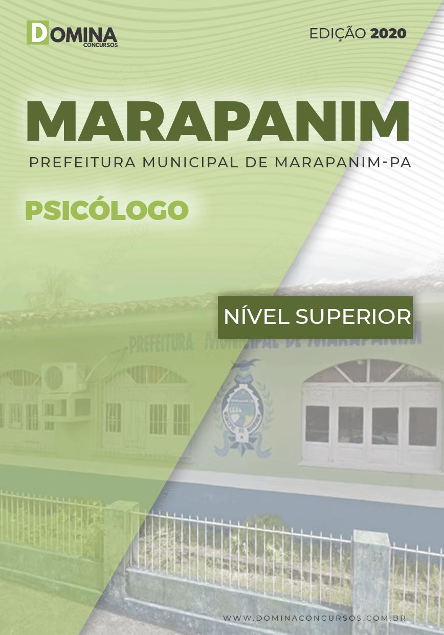 Apostila Concurso Pref Marapanim PA 2020 Psicólogo