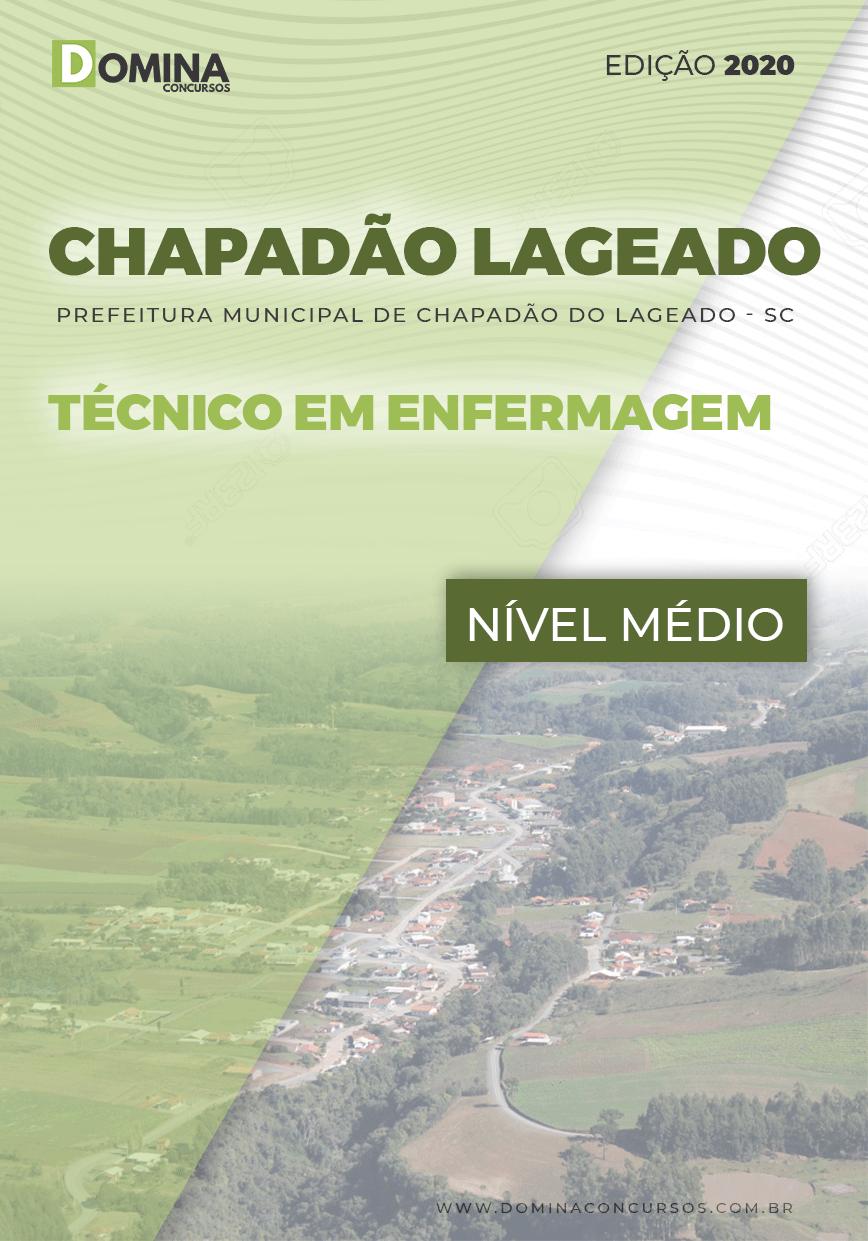 Apostila Chapadão do Lageado SC 2020 Técnico Enfermagem