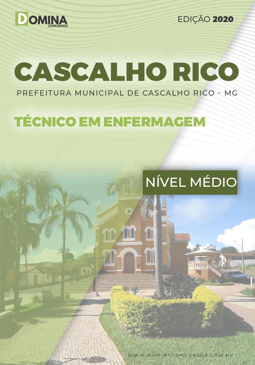 Apostila Pref Cascalho Rico MG 2020 Técnico em Enfermagem