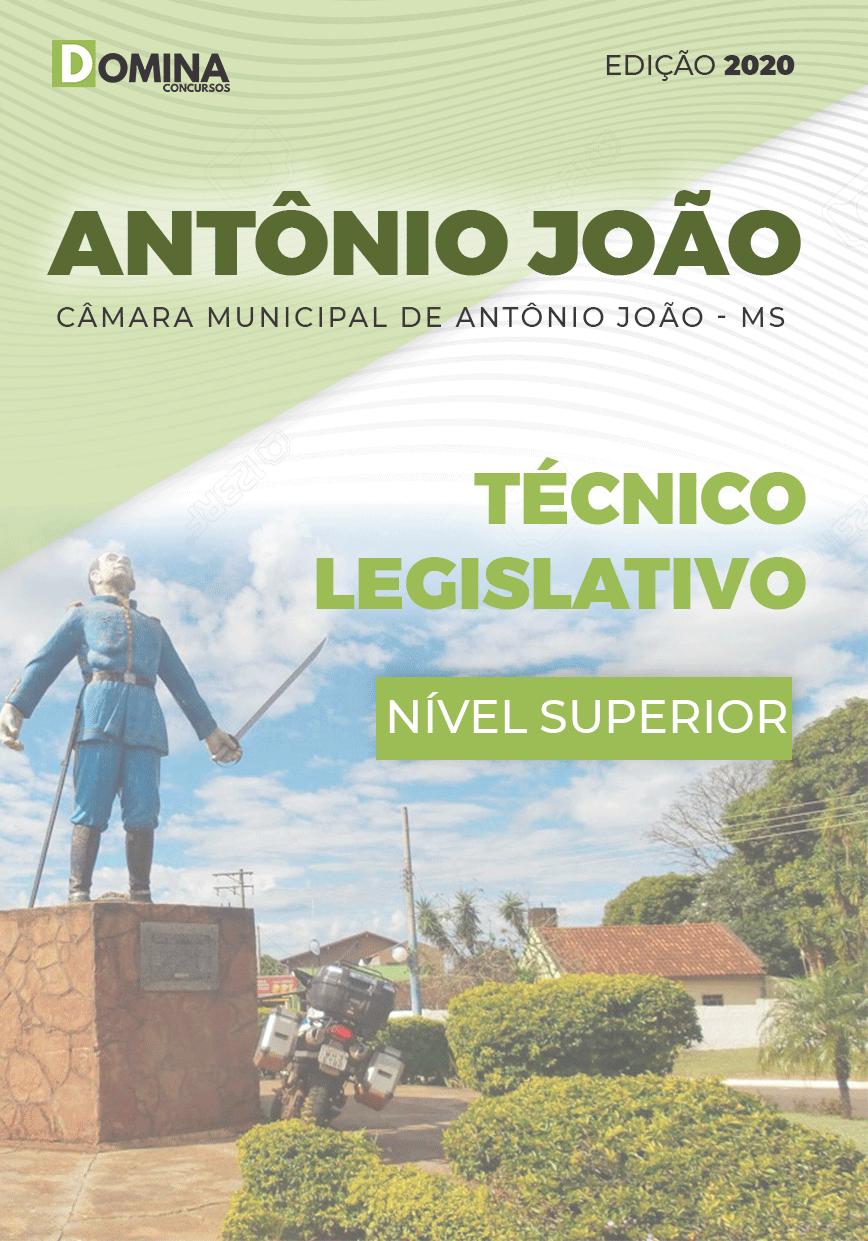 Apostila Câmara Antônio João MS 2020 Técnico Legislativo