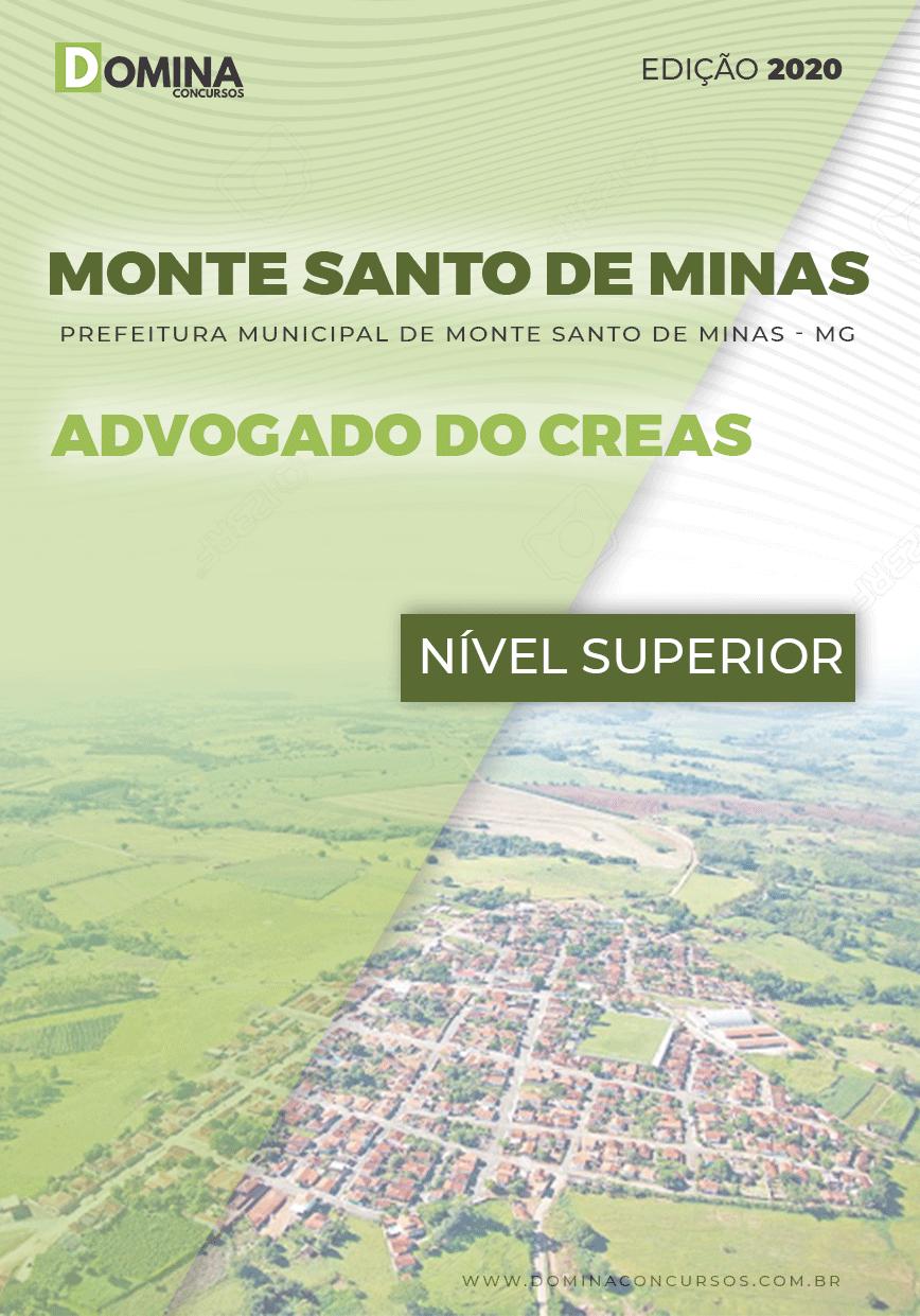 Apostila Pref Monte Santo Minas MG 2020 Advogado CREAS