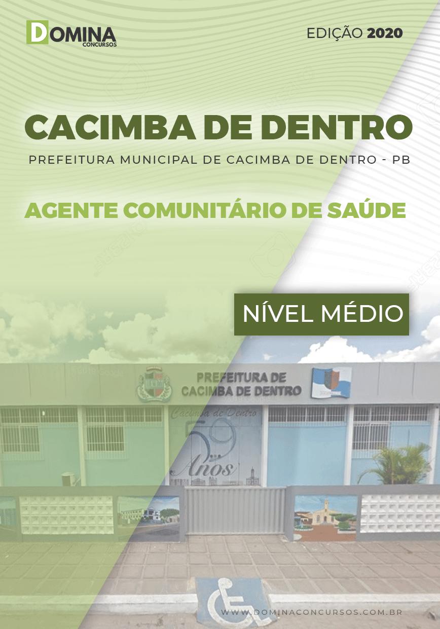 Apostila Pref Cacimba Dentro PB 2020 Agente Comunitário Saúde