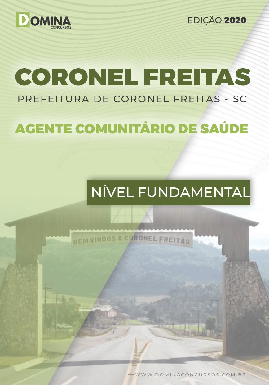 Apostila Coronel Freitas SC 2020 Agente Comunitário Saúde
