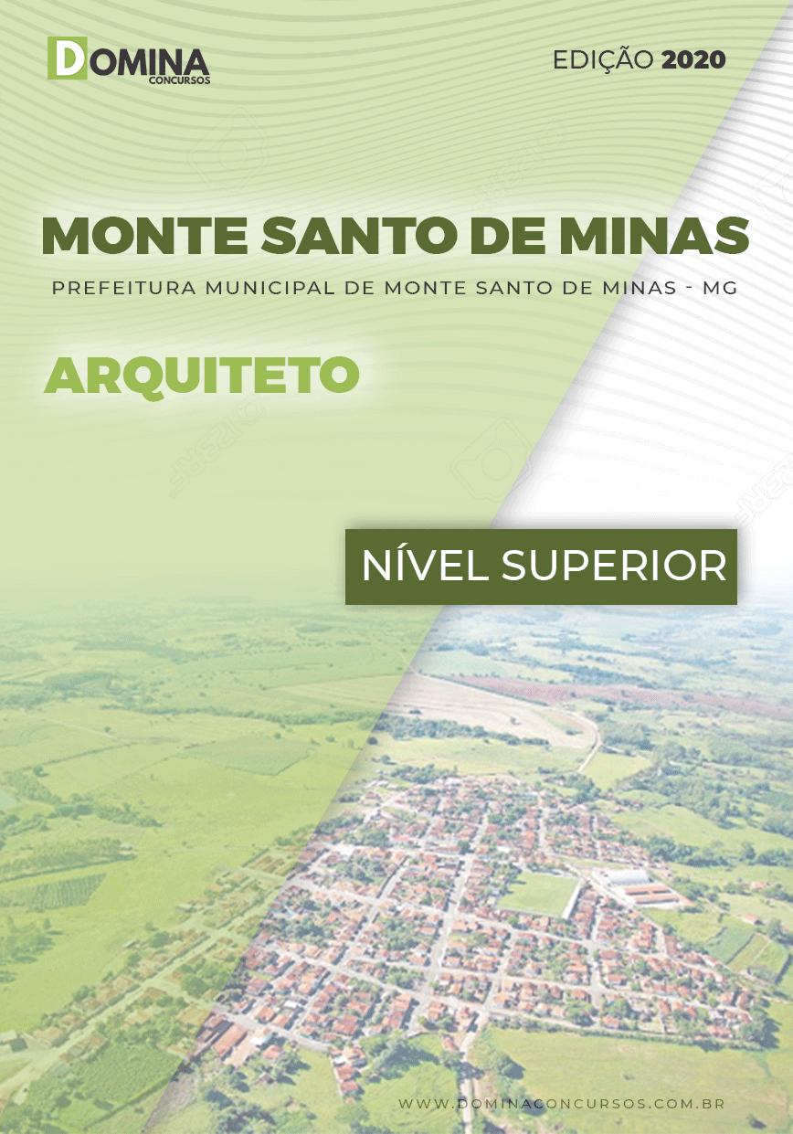 Apostila Pref Monte Santo Minas MG 2020 Arquiteto