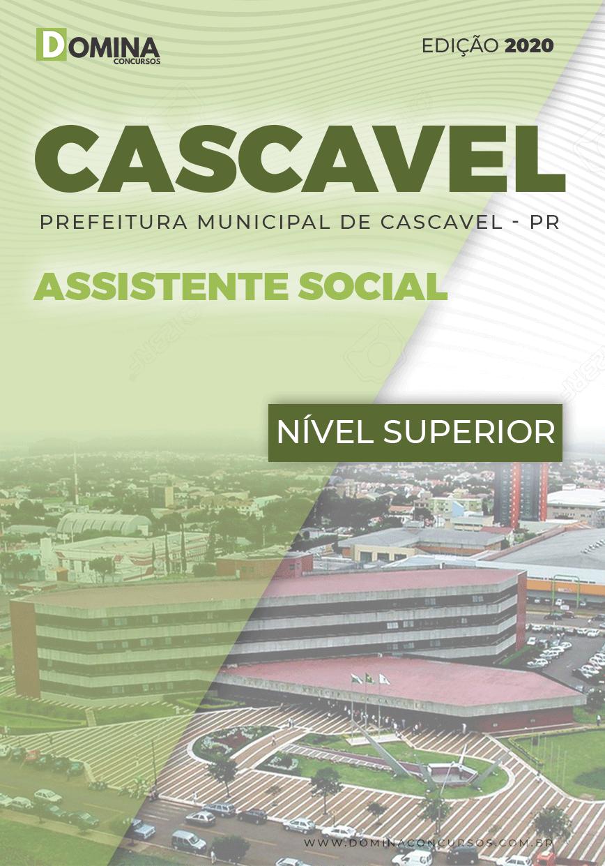 Apostila Concurso Cascavel PR 2020 Assistente Social