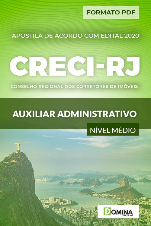 Apostila Concurso CRECI RJ 2020 Auxiliar Administrativo