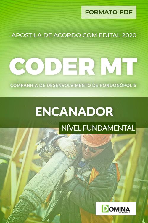 Apostila Concurso Público CODER MT 2020 Encanador