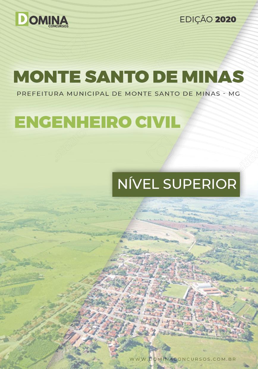 Apostila Pref Monte Santo Minas MG 2020 Engenheiro Civil