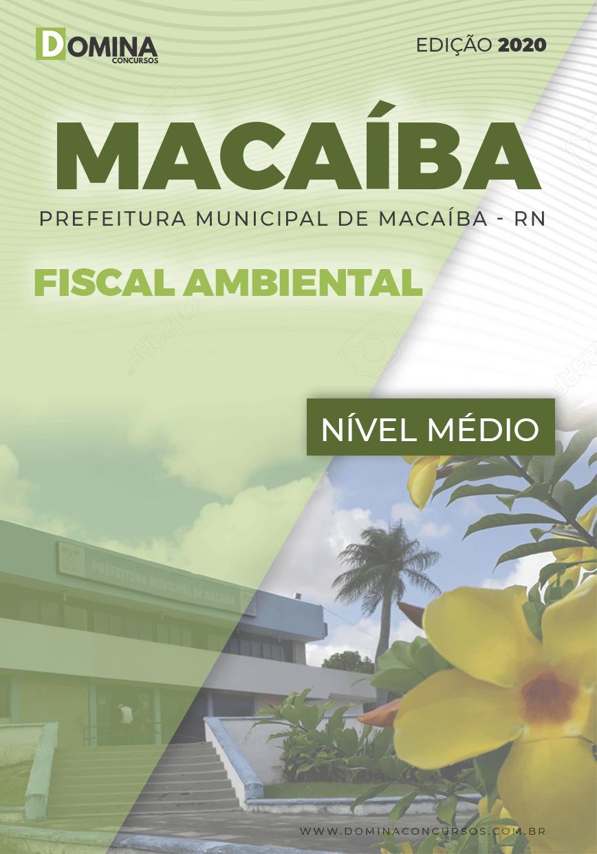 Apostila Concurso Pref Macaíba RN 2020 Fiscal Ambiental