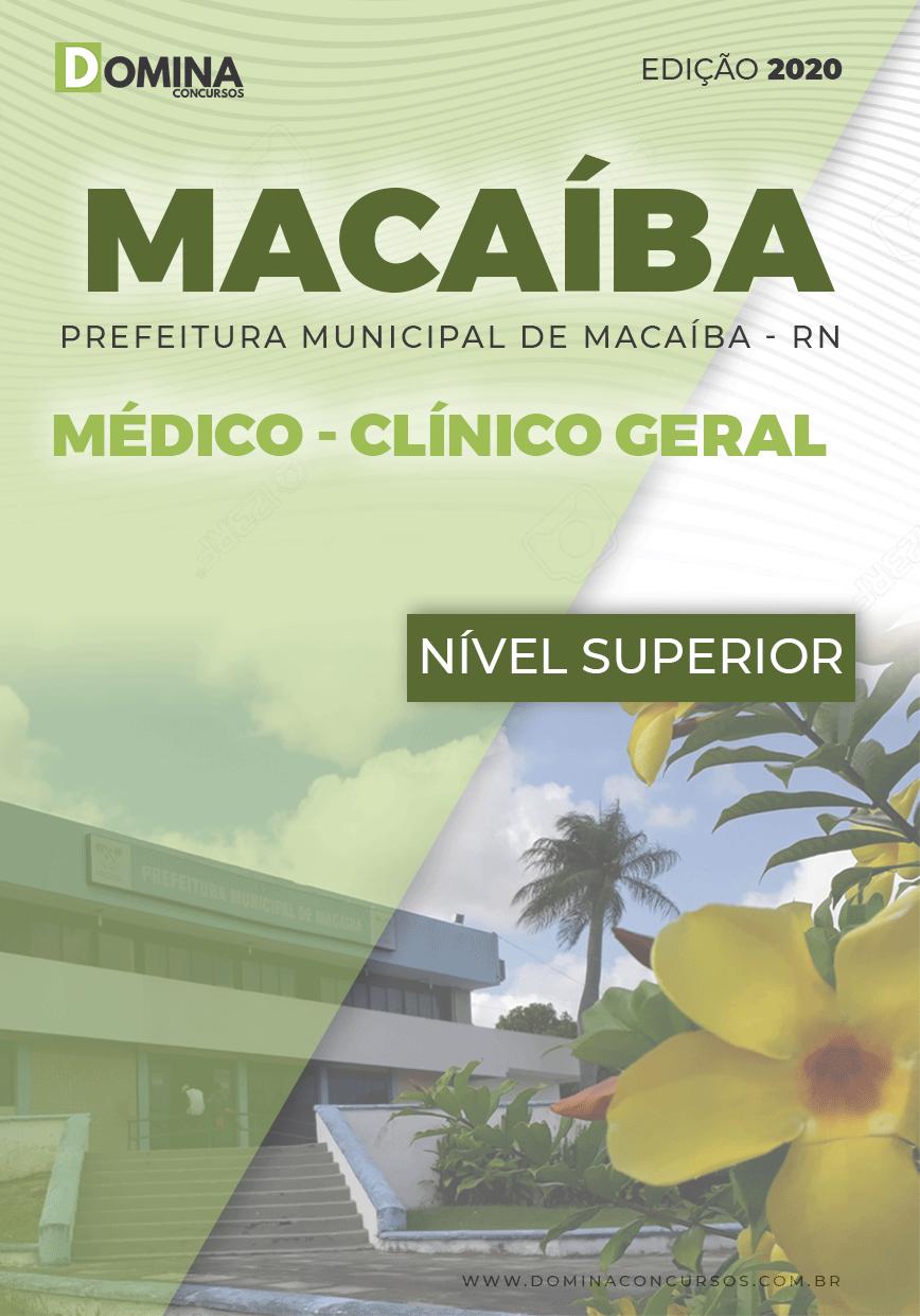 Apostila Concurso Pref Macaíba RN 2020 Médico Clínico Geral