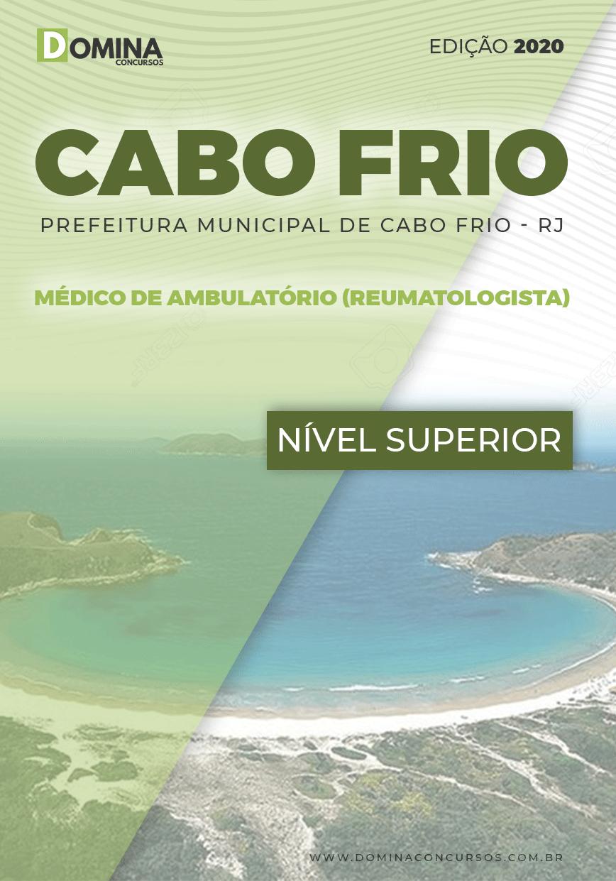 Apostila Pref Cabo Frio RJ 2020 Médico Ambulatório Reumatologista
