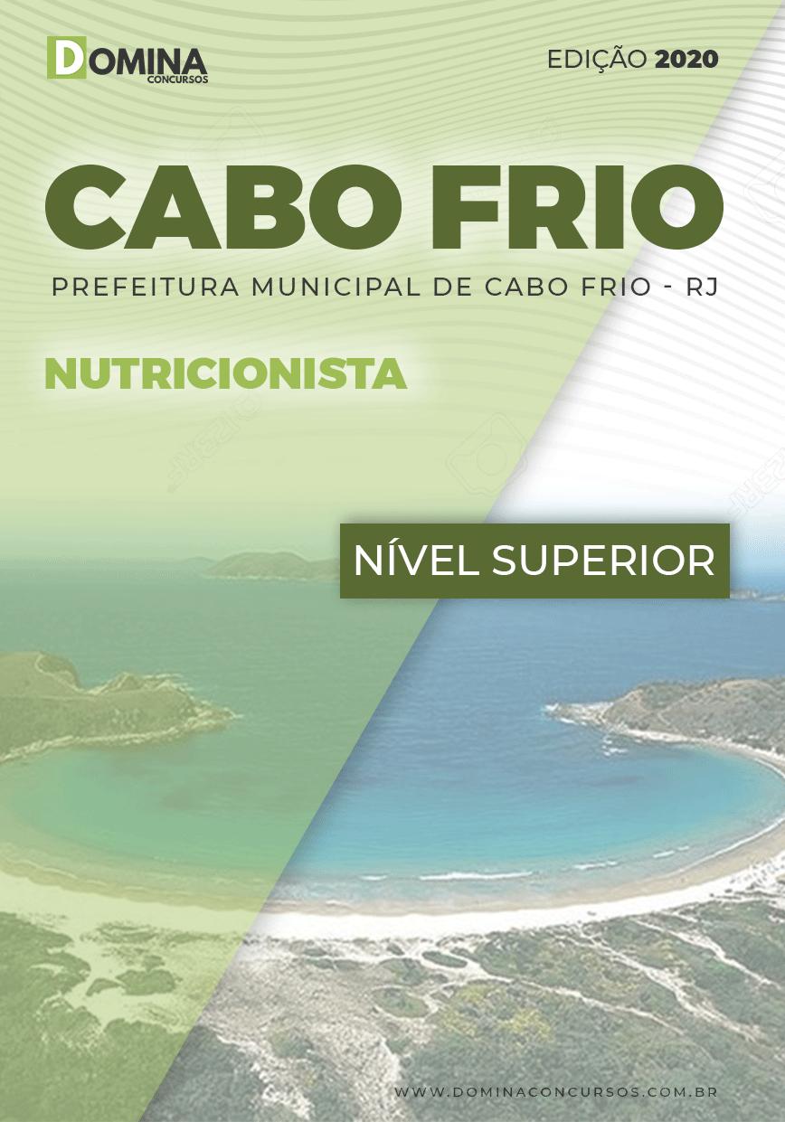 Apostila Concurso Pref Cabo Frio RJ 2020 Nutricionista