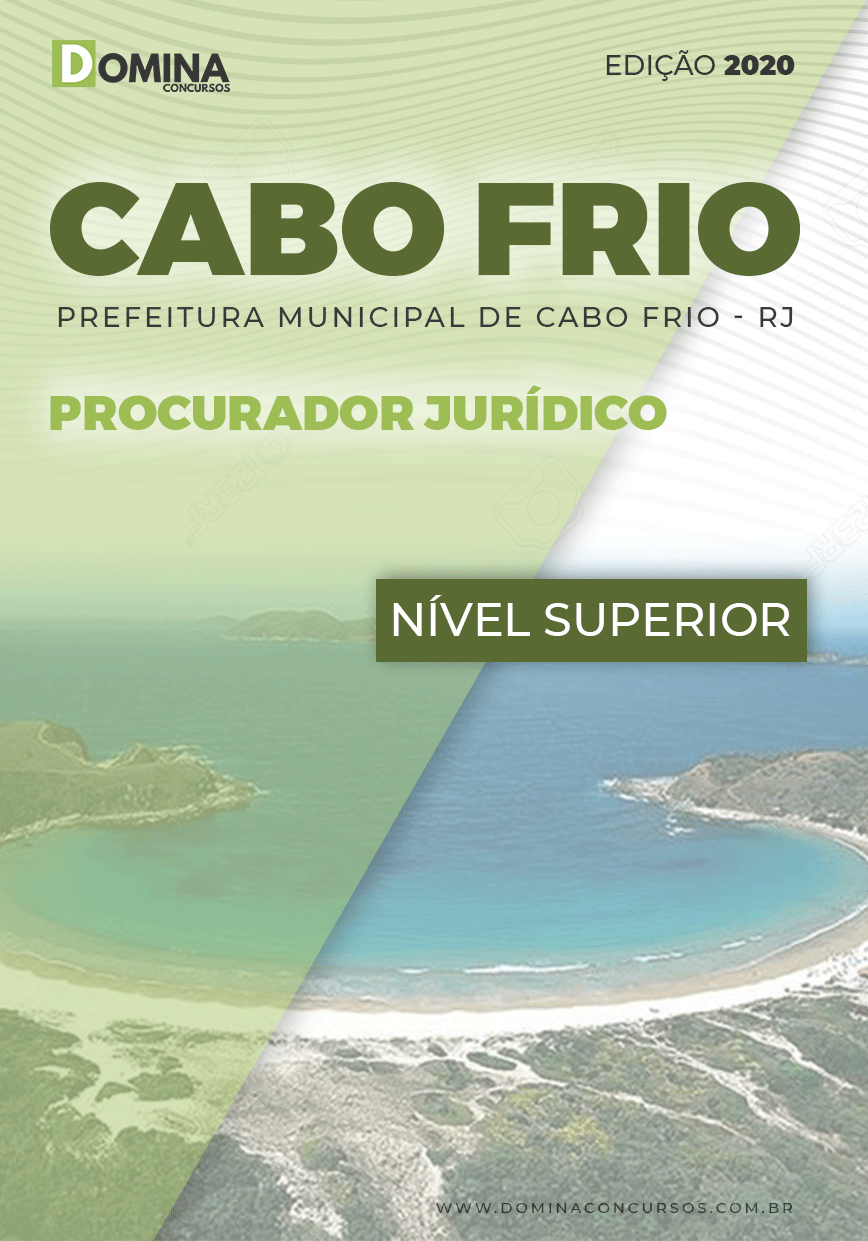 Apostila Concurso Pref Cabo Frio RJ 2020 Procurador Jurídico