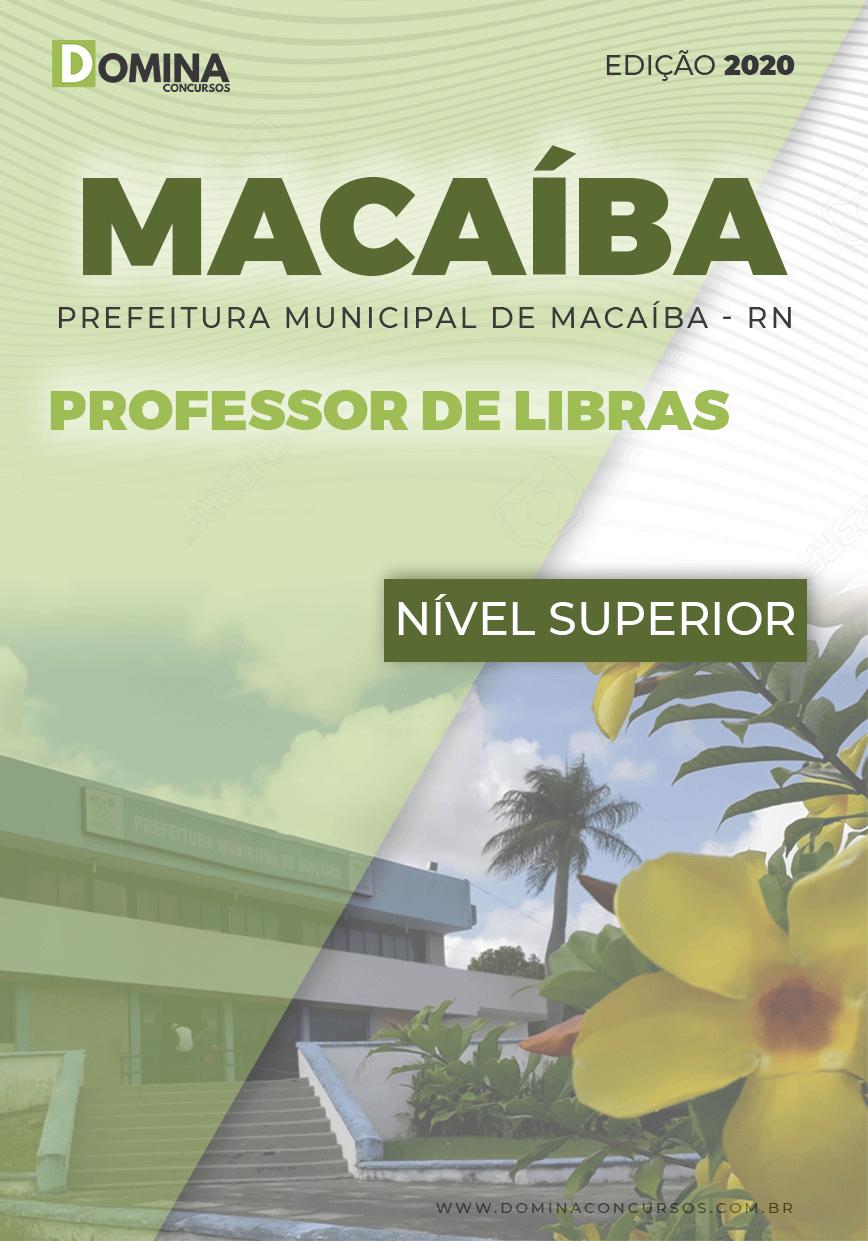 Apostila Concurso Pref Macaíba RN 2020 Professor de Libras