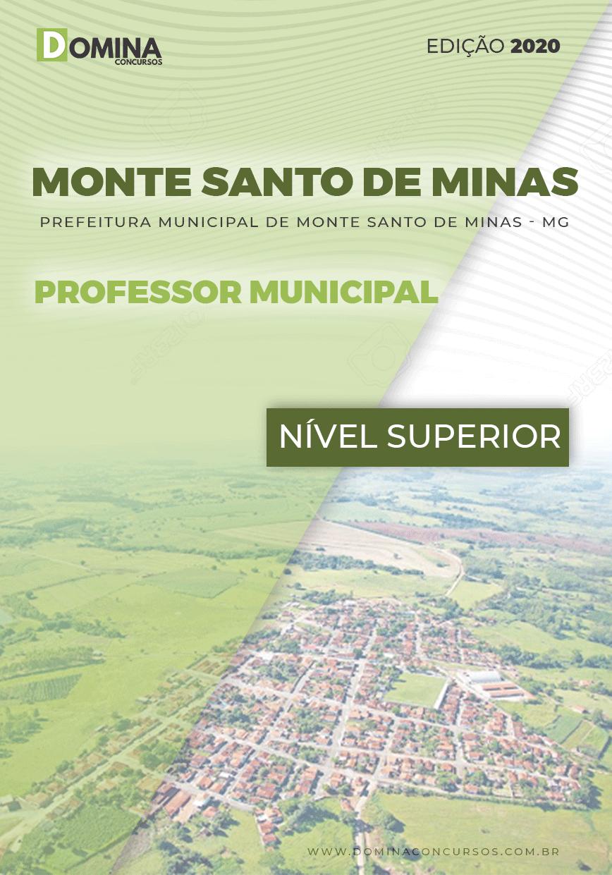 Apostila Pref Monte Santo Minas MG 2020 Professor Municipal