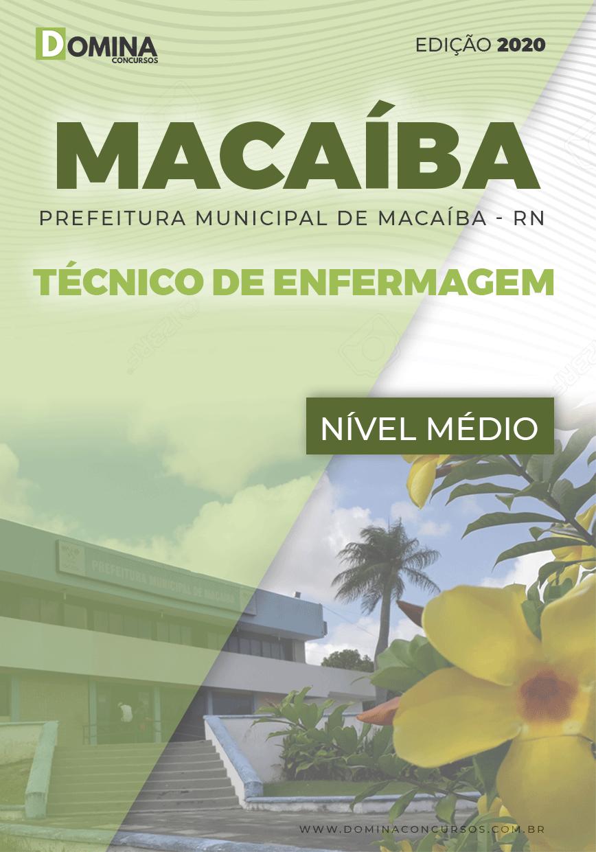 Apostila Pref Macaíba RN 2020 Técnico de Enfermagem