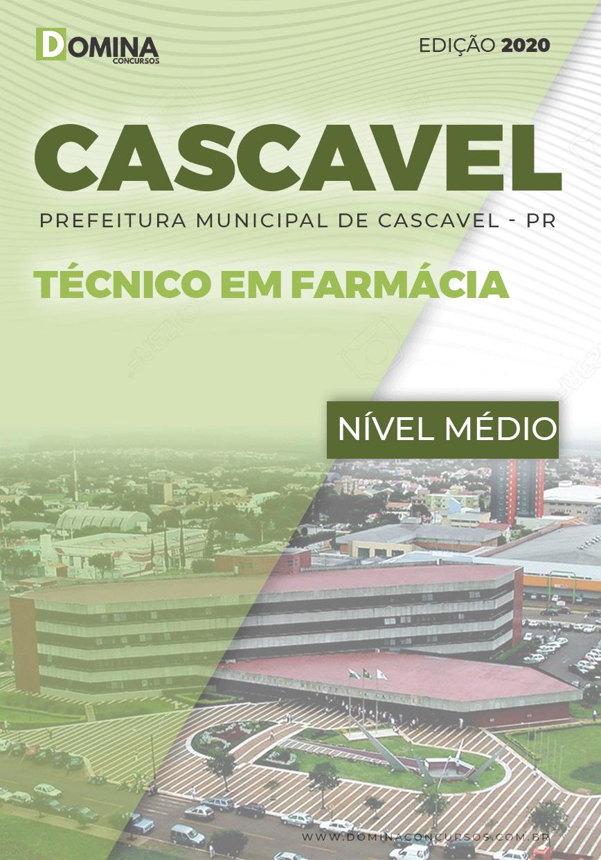 Apostila Concurso Cascavel PR 2020 Técnico em Farmácia