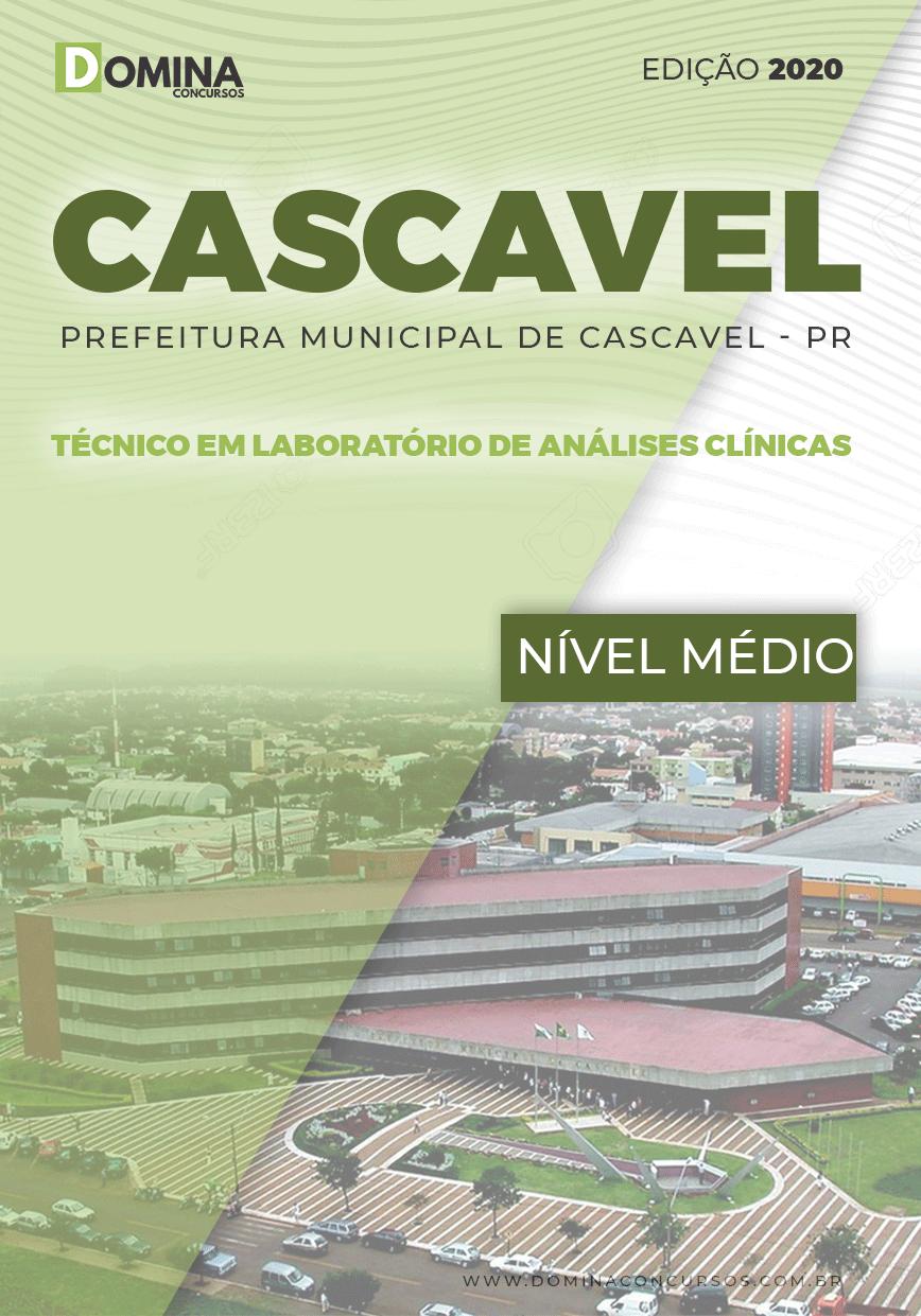 Apostila Cascavel PR 2020 Técnico Laboratório Análises Clínicas