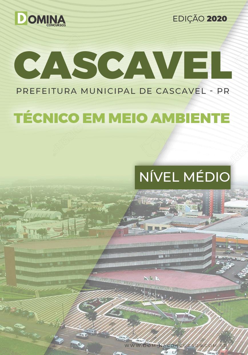 Apostila Cascavel PR 2020 Técnico em Meio Ambiente