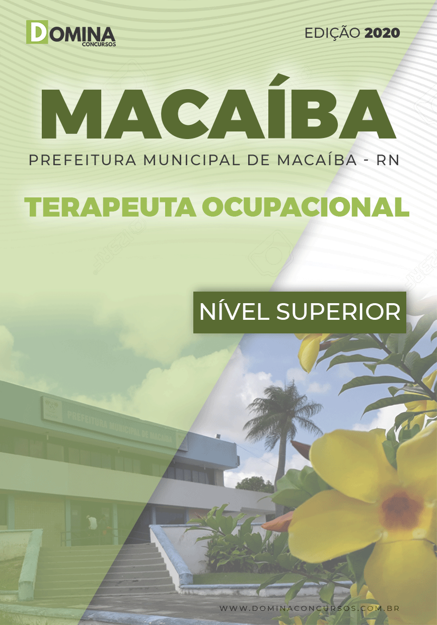 Apostila Concurso Pref Macaíba RN 2020 Terapeuta Ocupacional