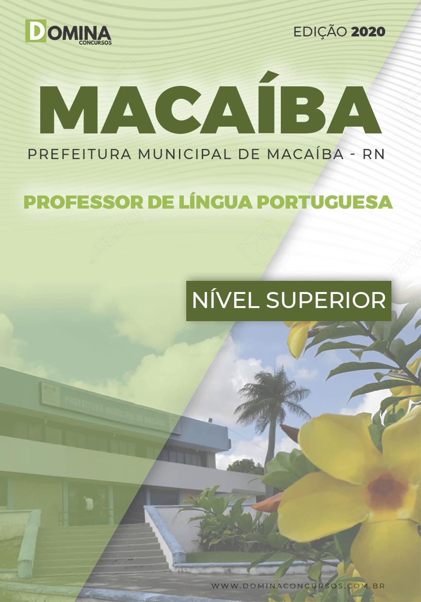 Apostila Pref Macaíba RN 2020 Prof de Língua Portuguesa