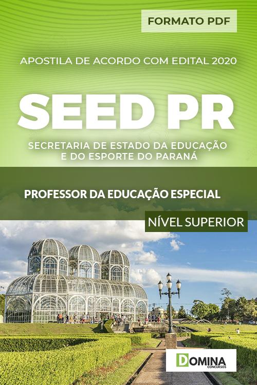 Apostila SEED PR 2020 Professor da Educação Especial