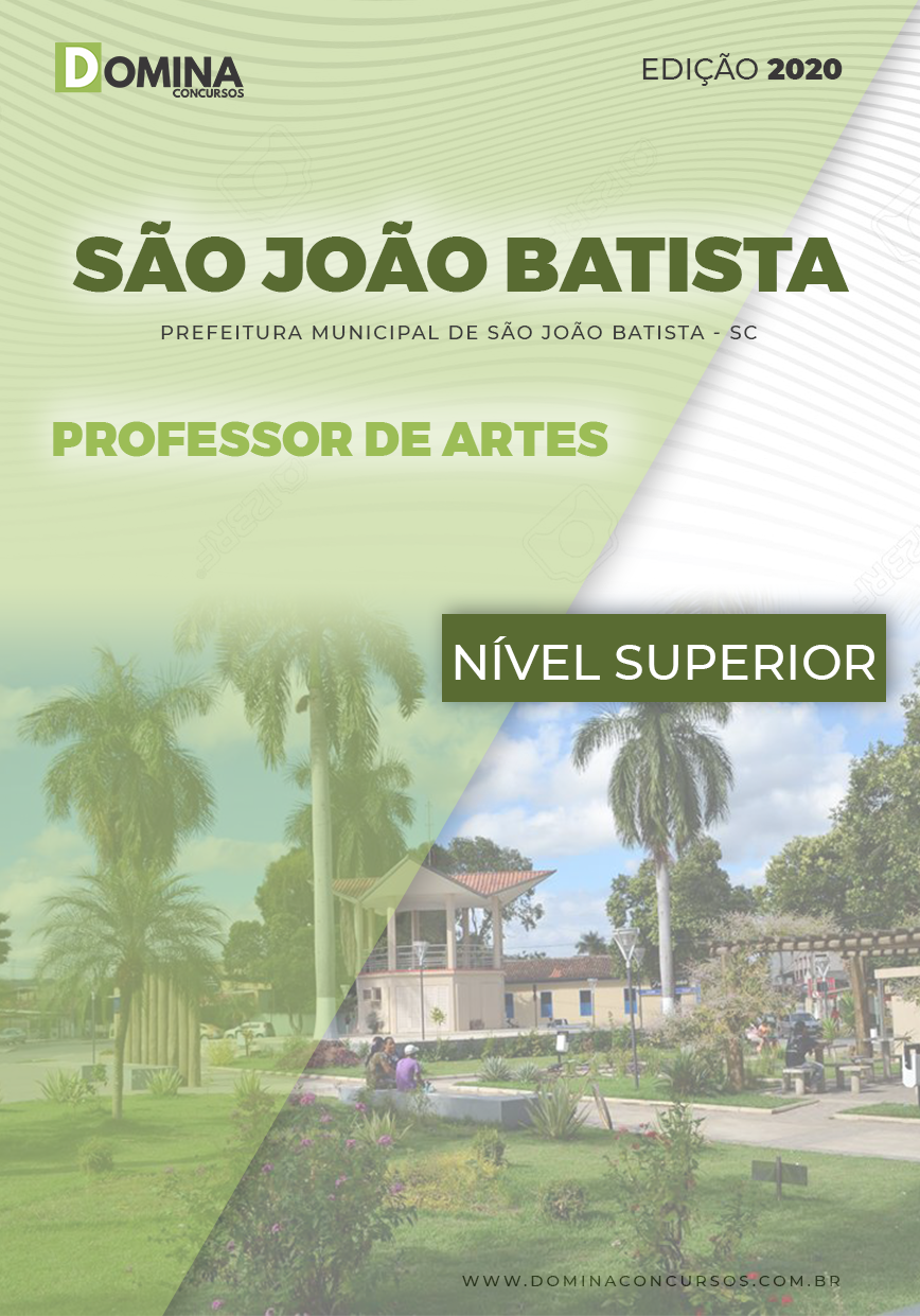 Apostila Concurso São João Batista 2020 Professor de Arte