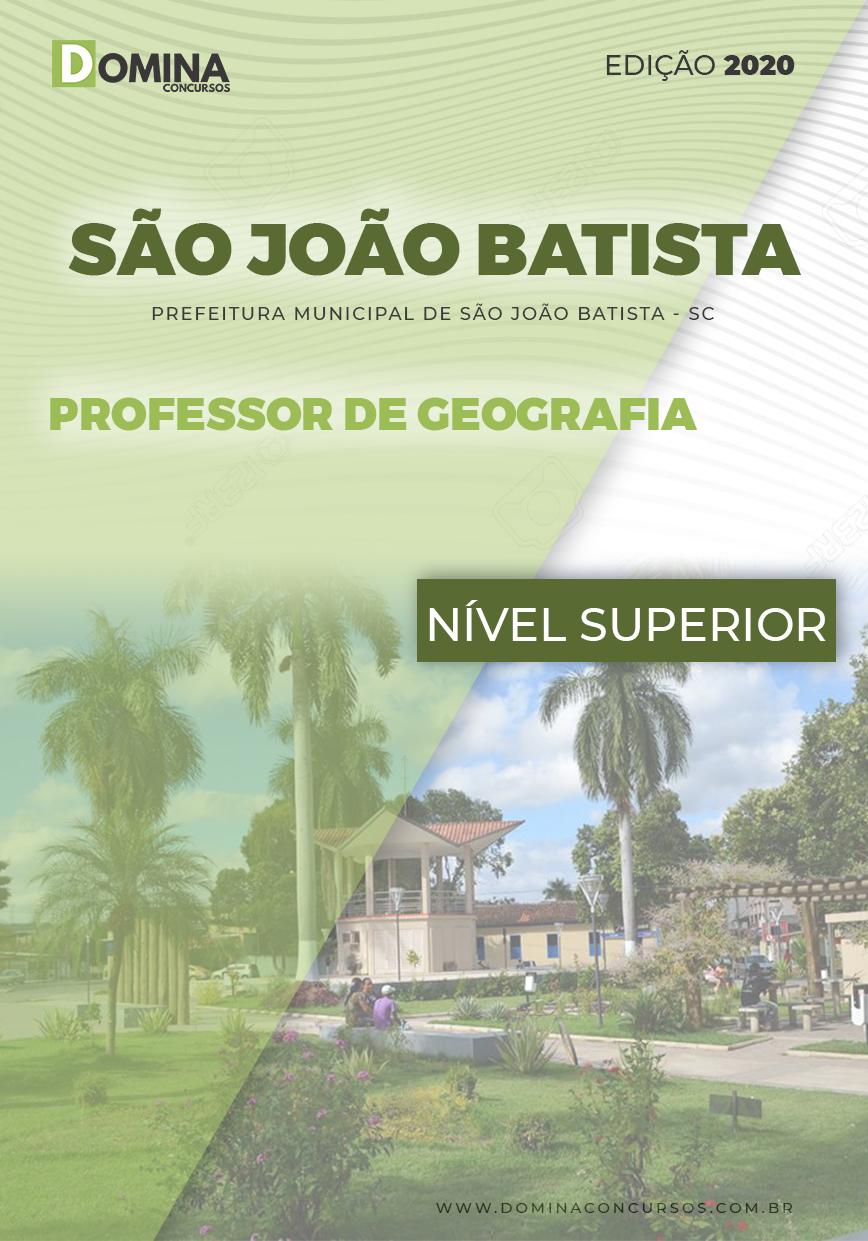 Apostila São João Batista 2020 Professor de Geografia