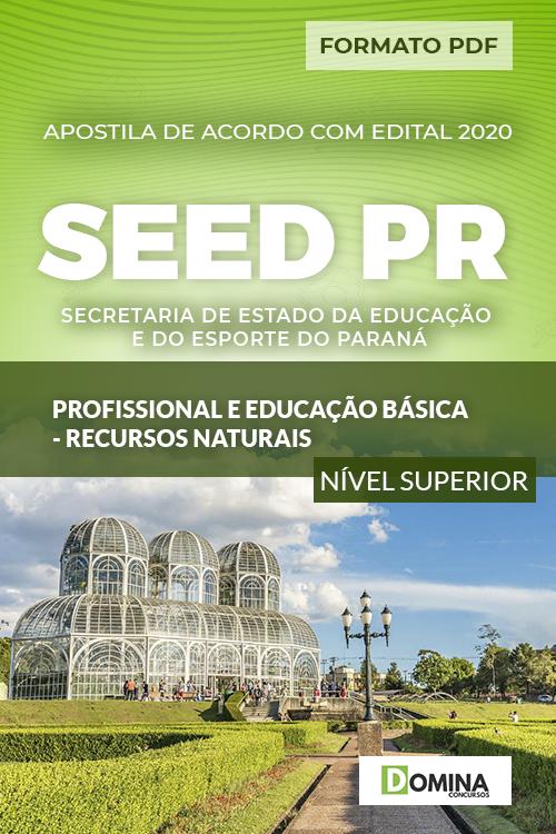 Apostila SEED PR 2020 Profissional Recursos Naturais