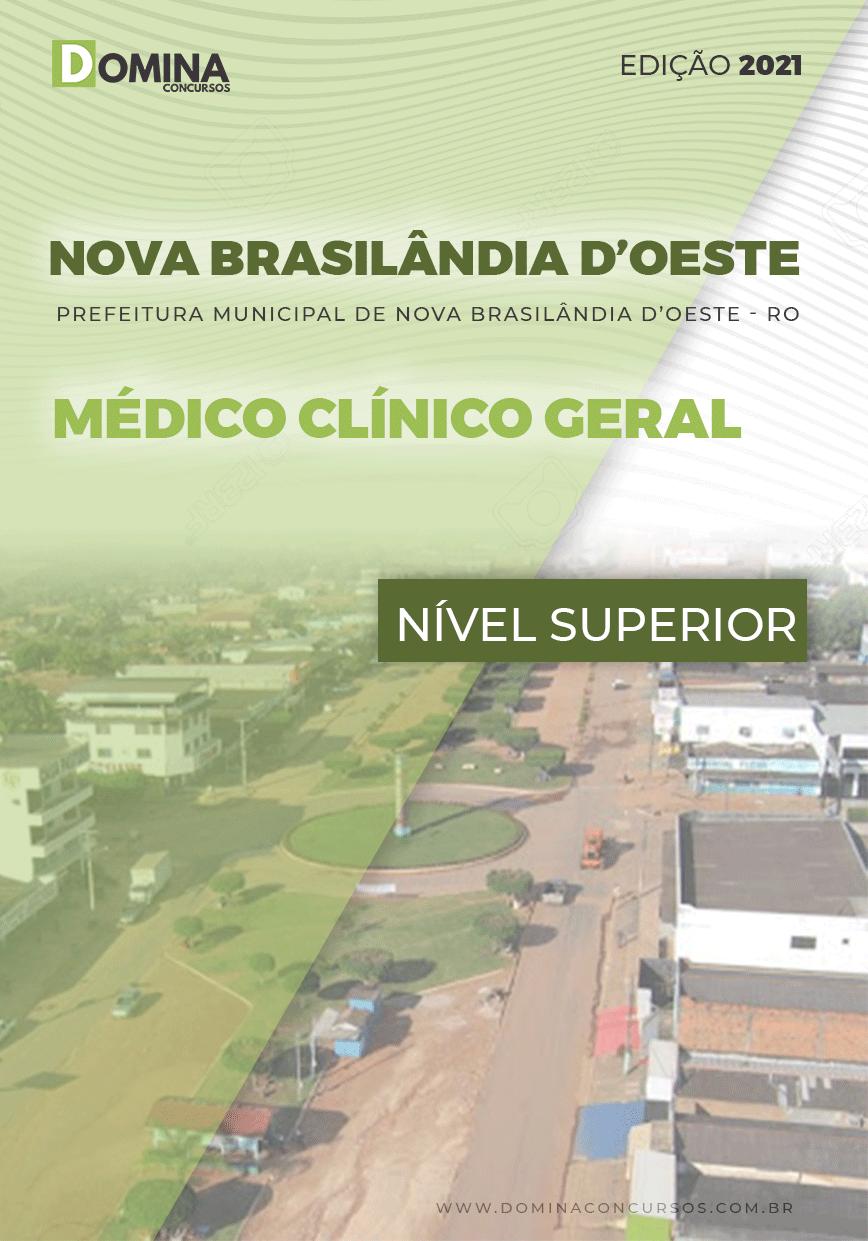 Apostila Nova Brasilândia D Oeste RO 2021 Médico Clínico Geral